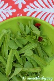 Asparagus Peas