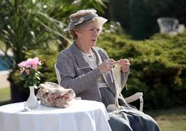 The late Geraldine Mc Ewan as Miss Marple